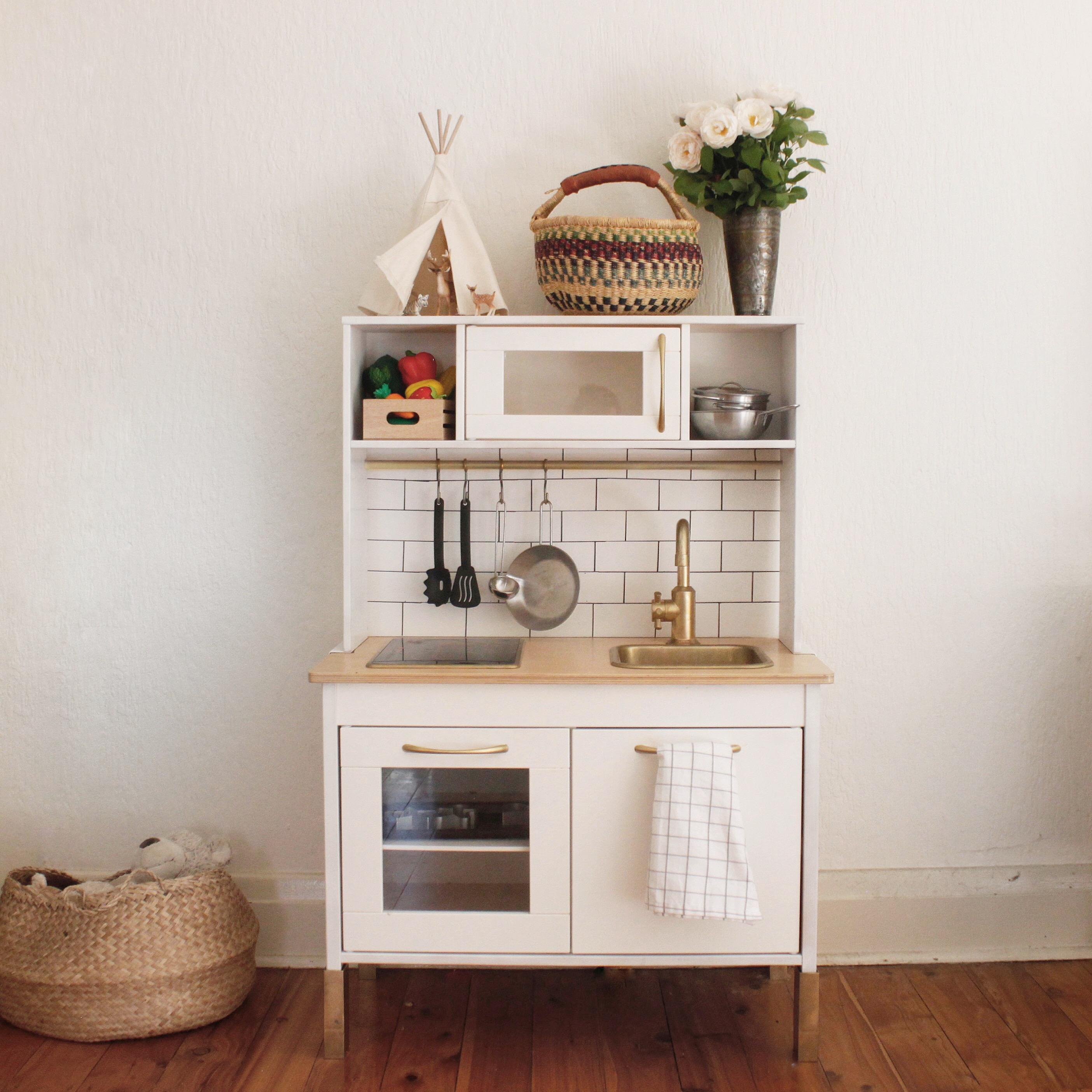 ikea hack play kitchen. Black Bedroom Furniture Sets. Home Design Ideas