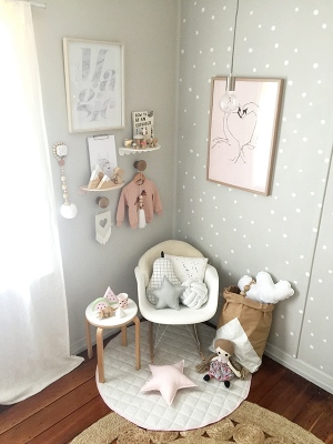 Luxe Baby Love Marlow's Room Tour Girls Room