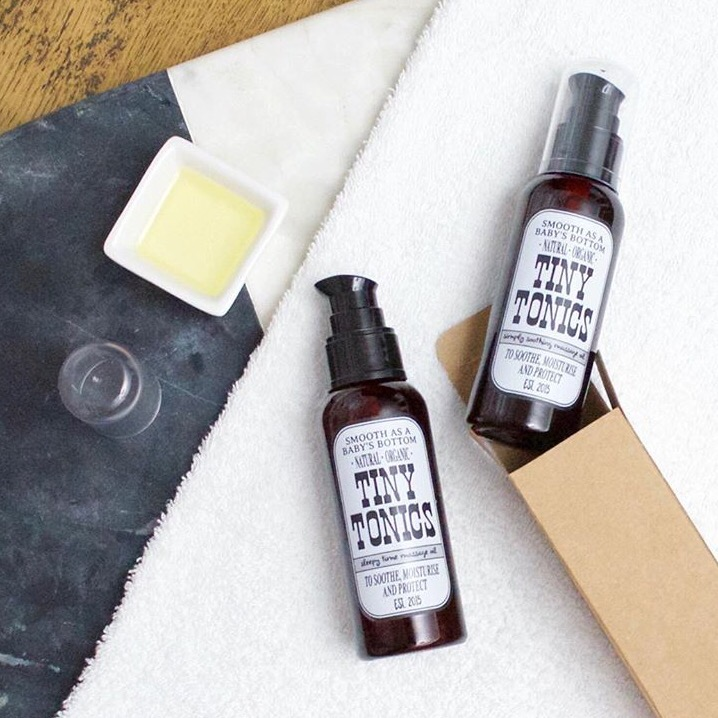 Tiny Tonics Natural Skincare for baby The Merge Journal