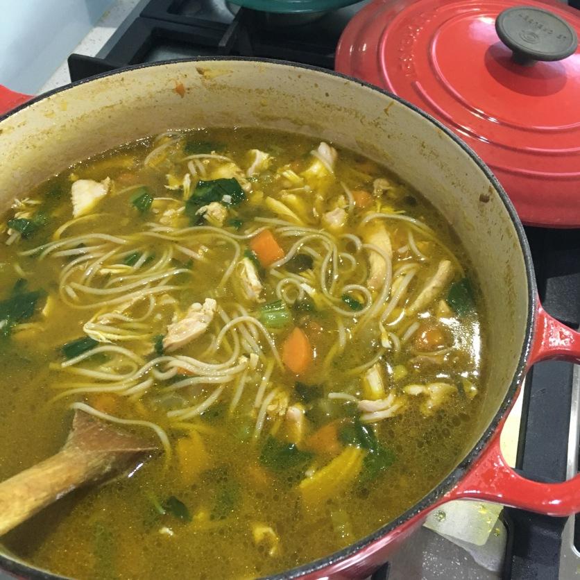 The Merge Journal Healing Chicken Soup Recipe