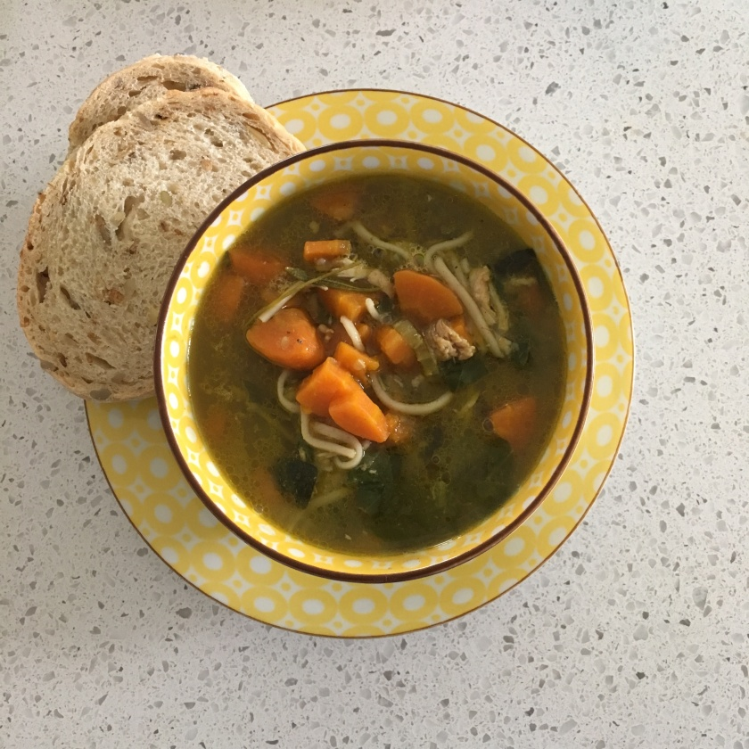 The Merge Journal Healing Chicken Soup Recipe